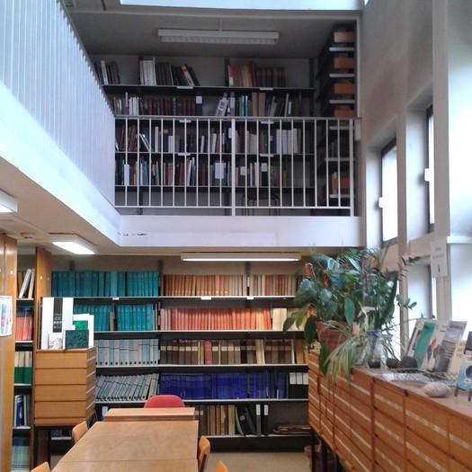 bibliothèque du bâtiment de géologie