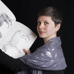 Charlène LETENNEUR  © MNHN-Agnès Iatzoura